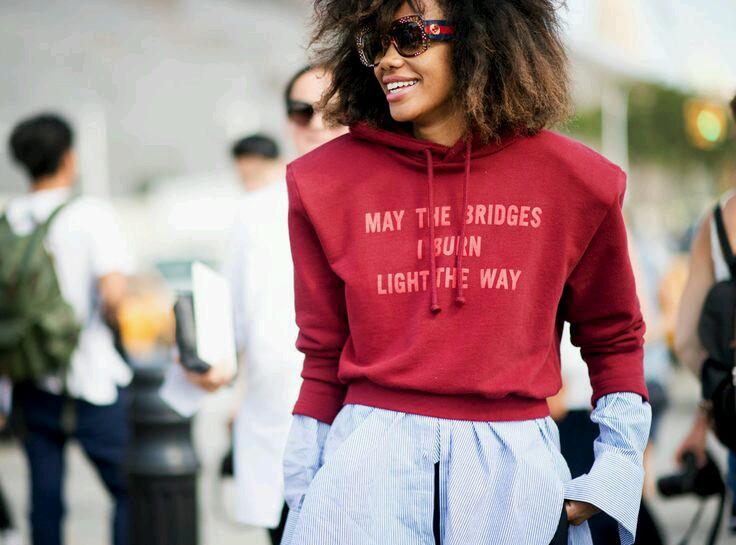 Porady stylisty * sporty chic czyli bluza z kapturem