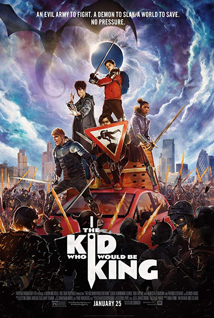The Kid Who Would Be King 2019 movie poster