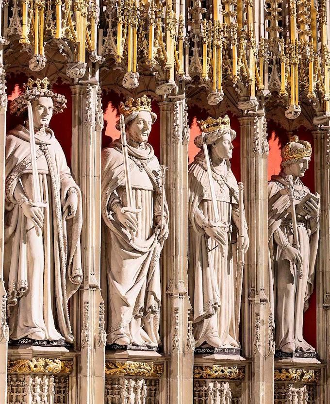 Detalhe da catedral de York, Inglaterra.