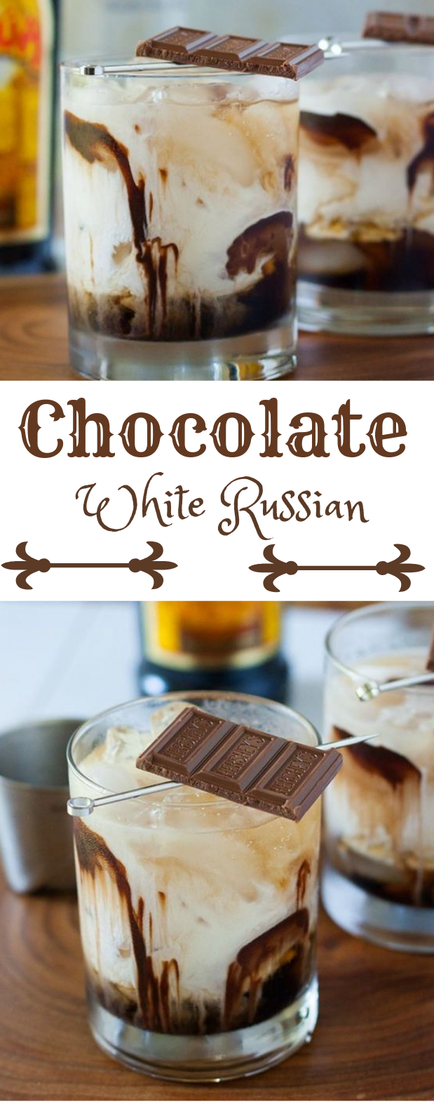 chocolate white russian #drink #chocolate