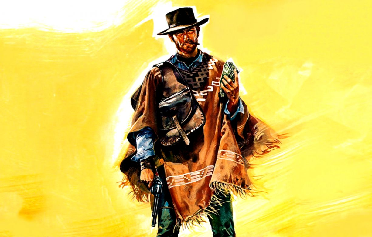 Wallpaper Gun Hat Clint Eastwood Clint Eastwood A Fistful Of