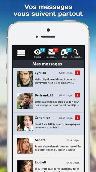 application iphone geolocalisation rencontre