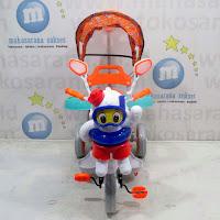 family octopus sepeda roda tiga anak