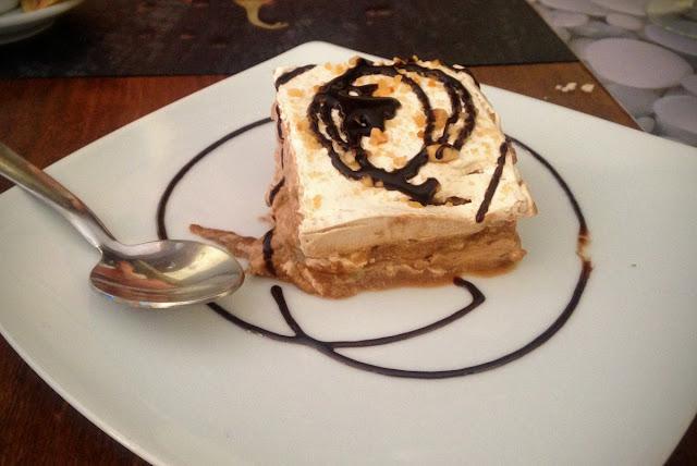 Quinoa restaurante vegetariano - Elche - Dessert tiramisu