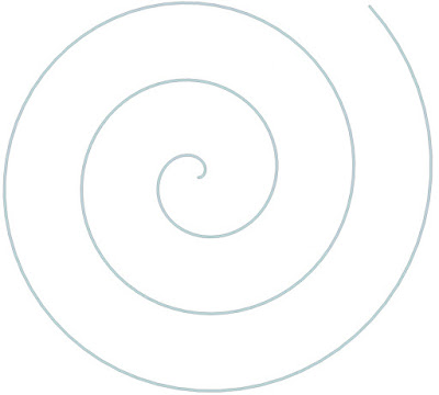 Drawing spirals with spatial data.