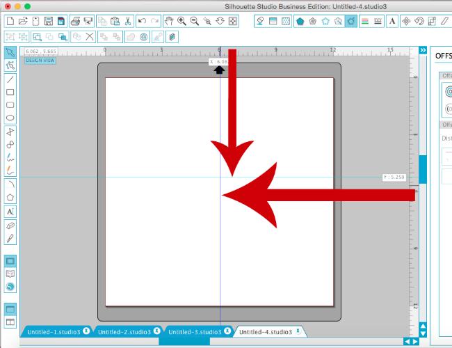 silhouette cameo rulers tutorial silhouette studio