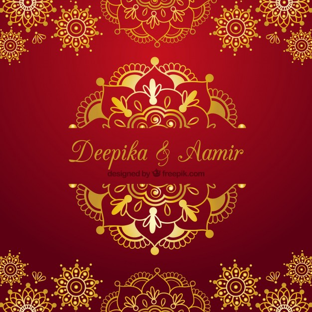 Editable Hindu Wedding Invitation Cards Templates Free Download ...