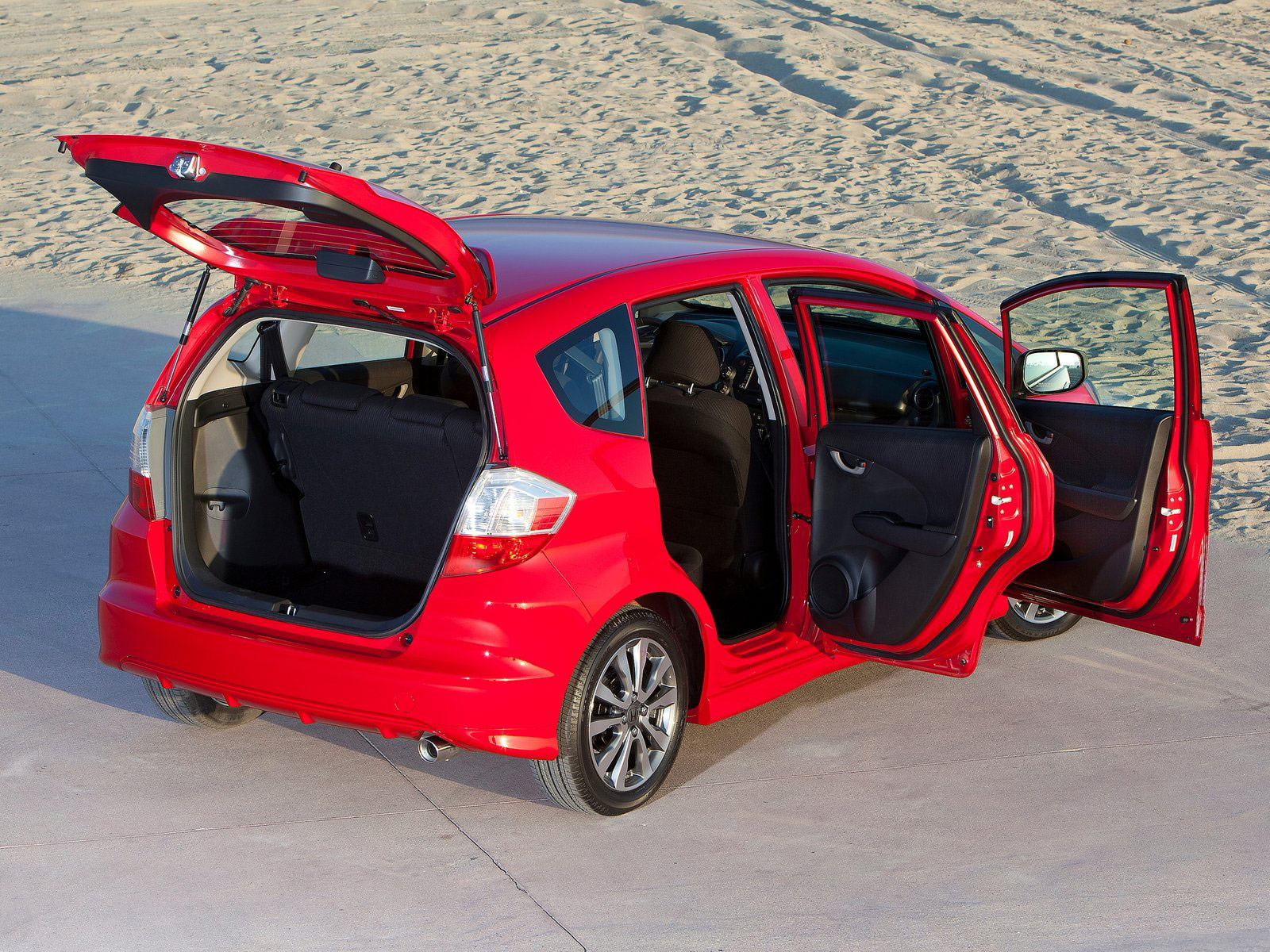 Small Size Car Wallpapers 2012 Honda Fit Sport Photos