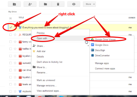 how to show comments google docs