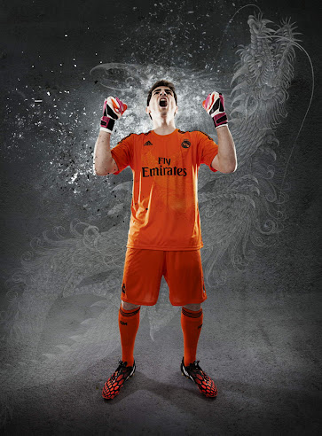 timeless design b69fc cb27d Real Madrid 14-15 Home, Away Kits + Yamamoto Dragon Third ...