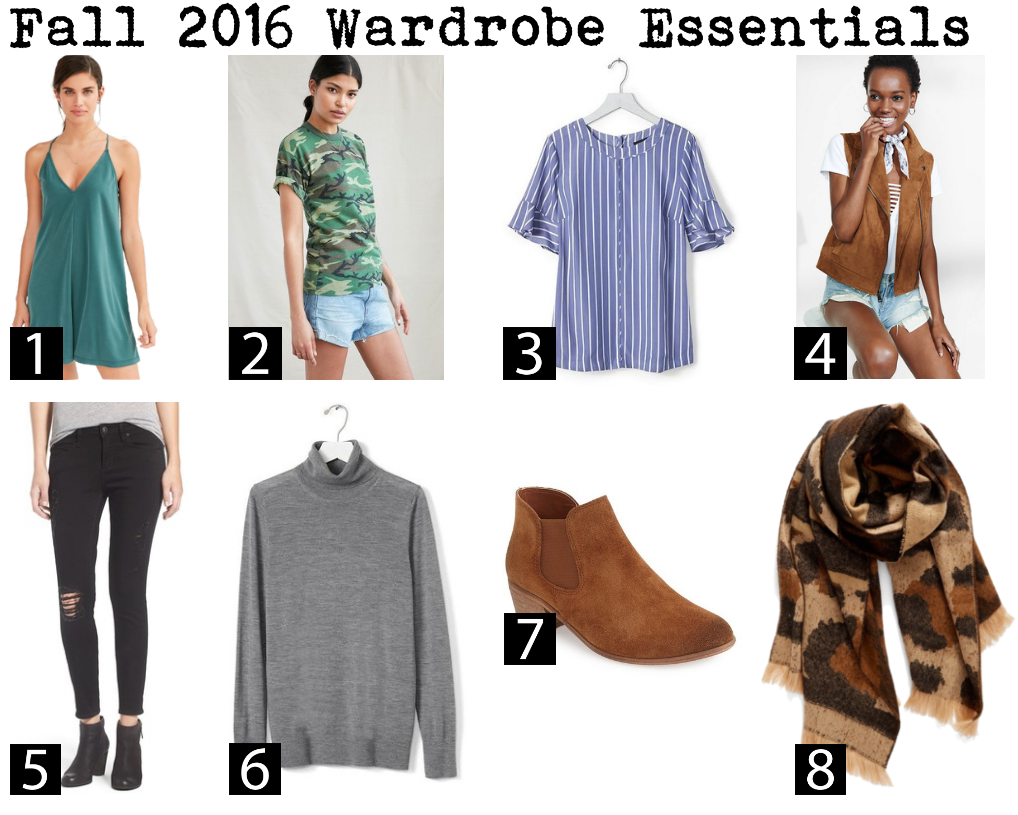 fall 2016 wardrobe essentials | what to buy this fall for your wardrobe | fall trends 2016 | fall outfit ideas | a memory of us |