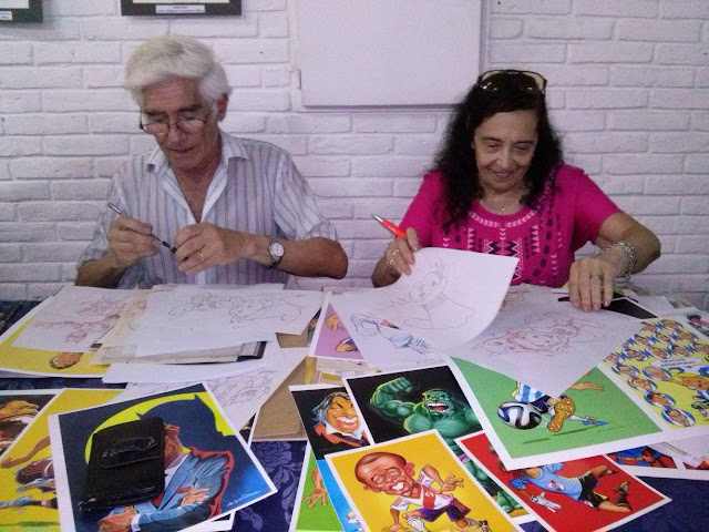 Jorge de los Ríos y Delma / PH: Marcelo Minervini