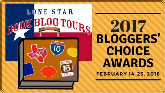 #LoneStarLit Bloggers' Choice Awards Best Cover & Most Engaged Author