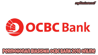 Permohonan Biasiswa OCBC Bank 2018 Online