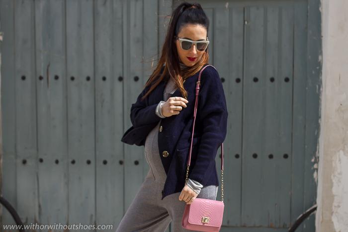 Blogger influencer de Valencia de moda beleza embarazada
