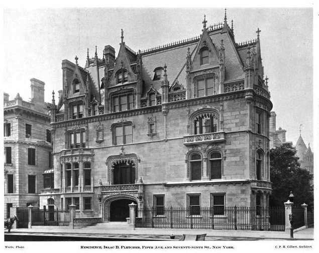 Beyond The Gilded Age The Isaac D Fletcher Residence