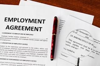 jangka kontrak kerja