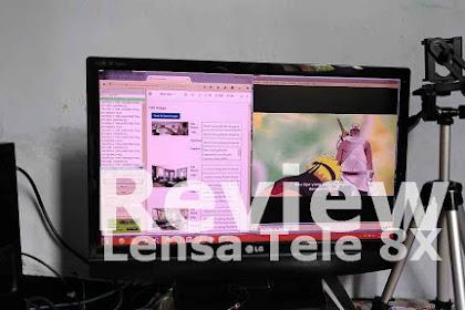 Lensa Tele Review di HP Zenfone 3 ZE520KL