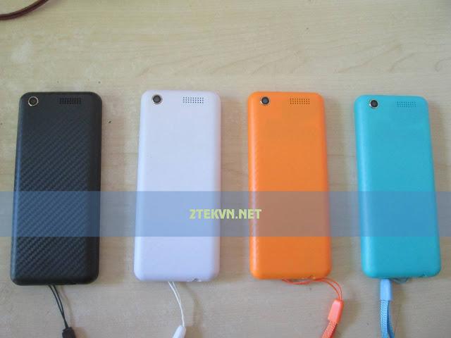 Mặt sau các màu sắc Hphone H223