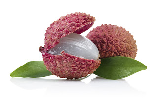 two lychee nuts