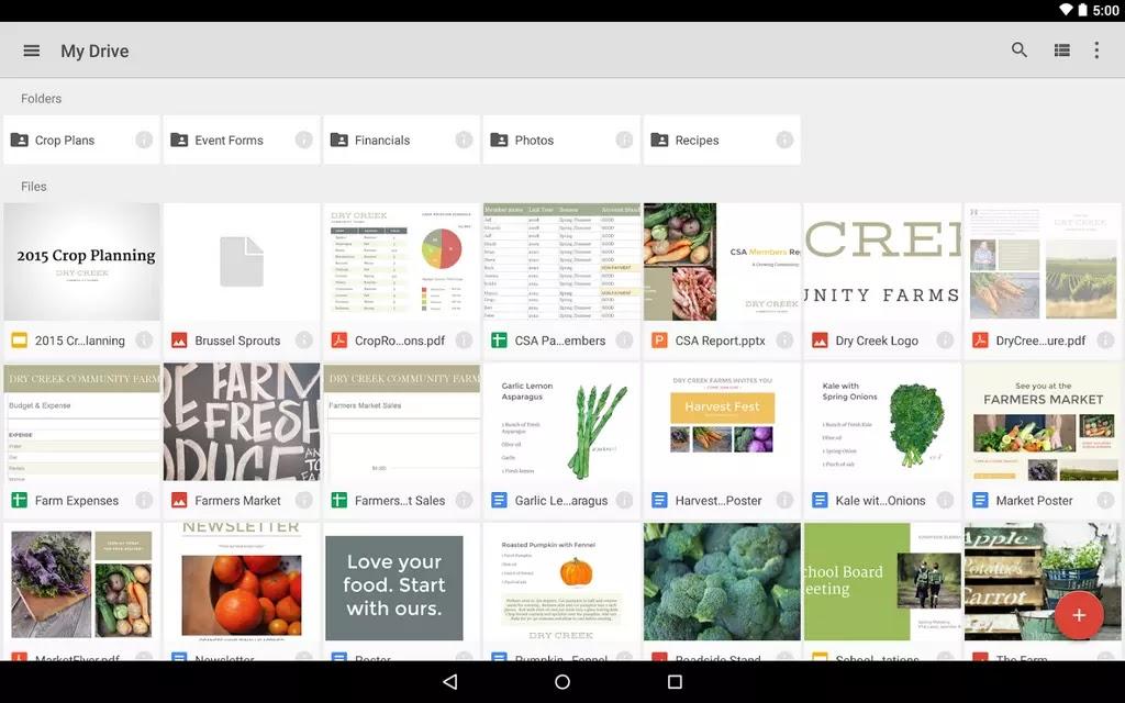 google docs apk android 4.3