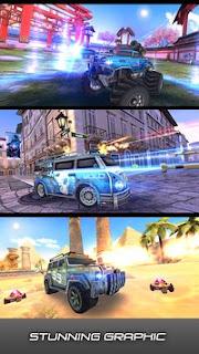Overload 3D MOBA Car Shooting Mod V1.1. Apk