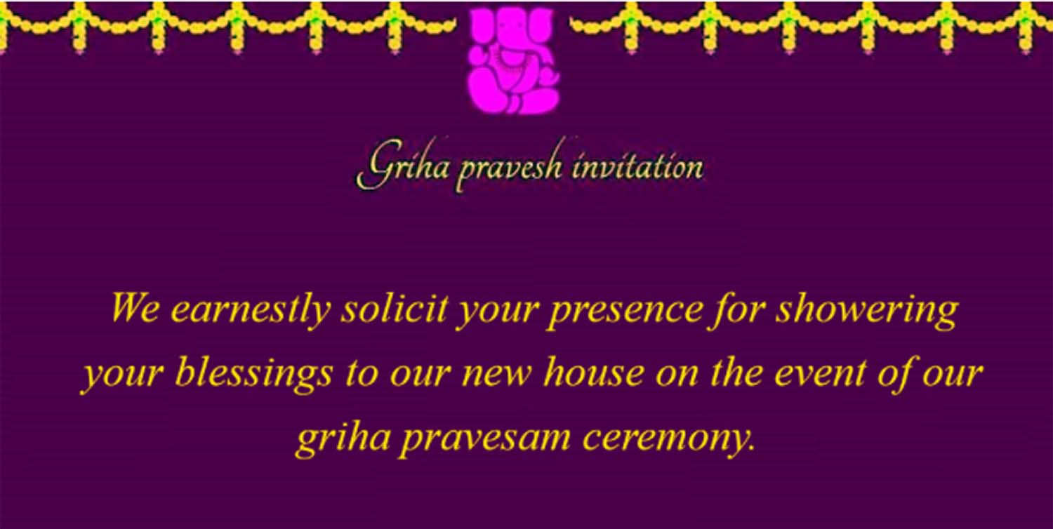 House warming invitation futurecliminfo accomplishment report format house warming invitation futurecliminfo credit note form sample griha pravesh invitation indian house warming ceremony invitation stopboris Gallery