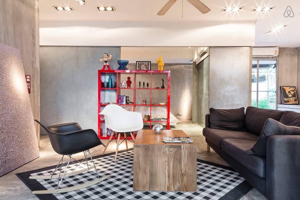 Il loft del designer a Bangkok