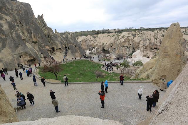 Goreme Open Air Museum is a member of UNESCO World Heritage since 1984 in Cappadocia, Turkey