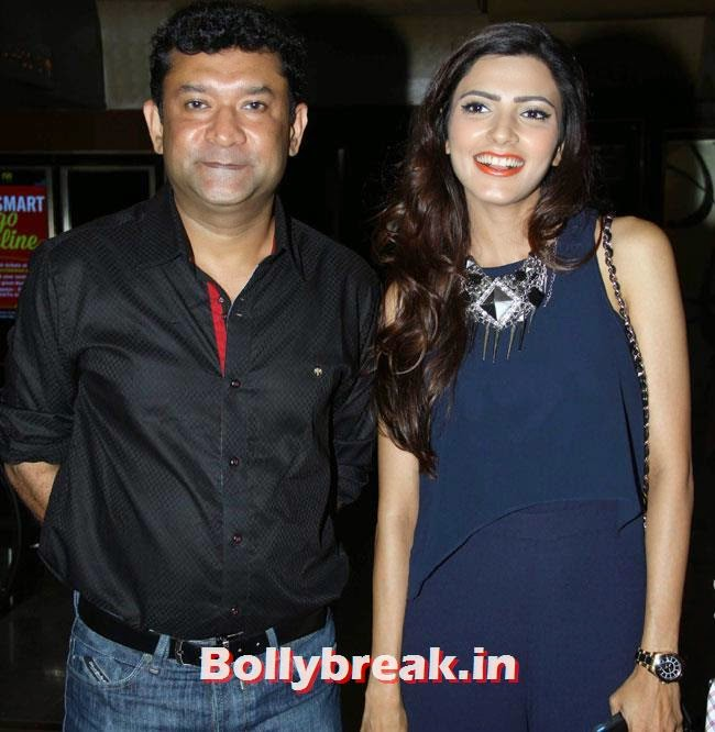 Ken Ghosh and Yoshika Verma, Yoshika Verma, Neetu Chandra at Yeh Hai Bakrapur Premiere