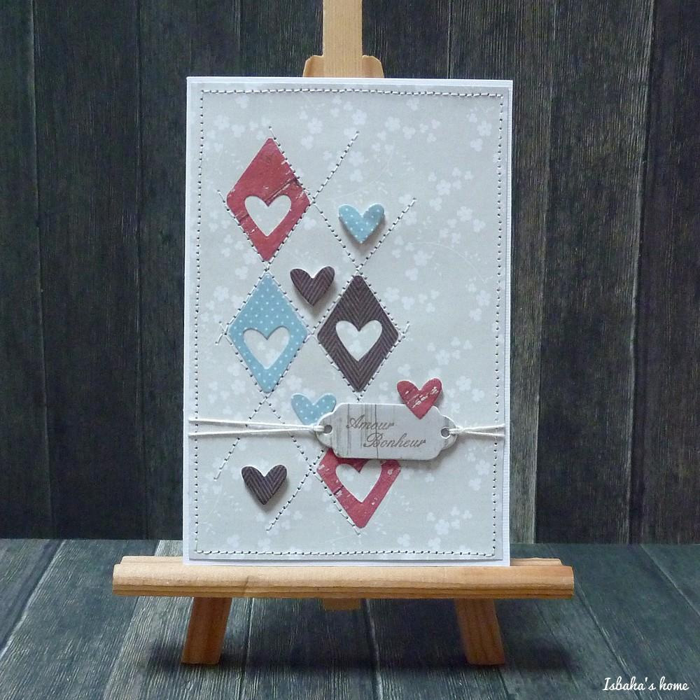 homemade card love