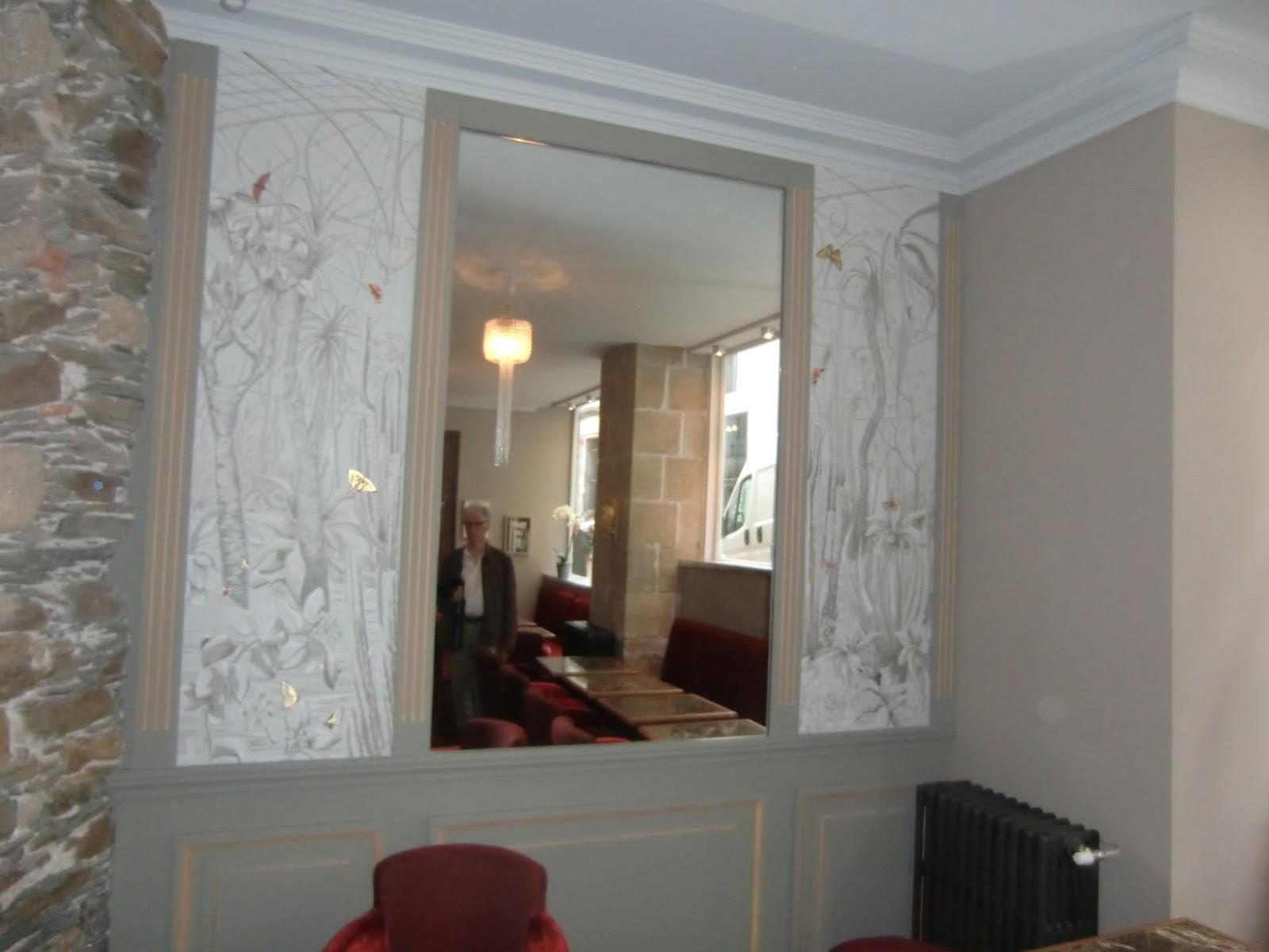 Decoration Et Peinture Salon benoit desclos - peinture déco tel : 06 16 59 81 36: décor