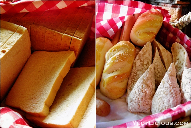 Freshly Baked Breads at Don Vito