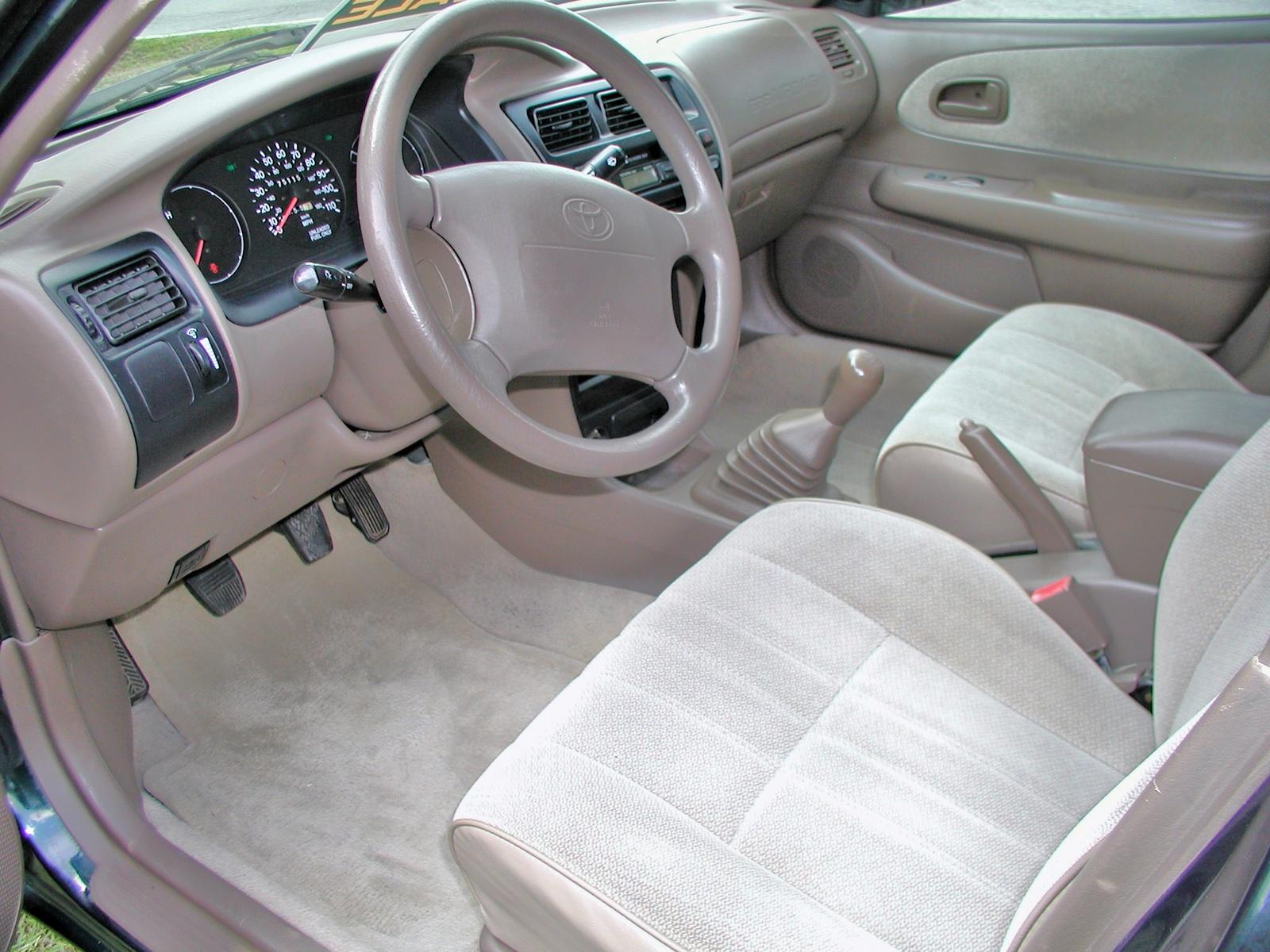 Toyota Corolla Interior Car Models