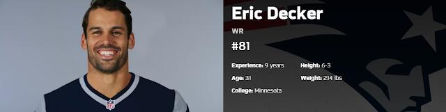 Eric Decker anuncia retiro después de 8 temporadas