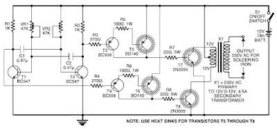 500w 12v To 220v Inverter Circuits Diagram Circuit Diagram