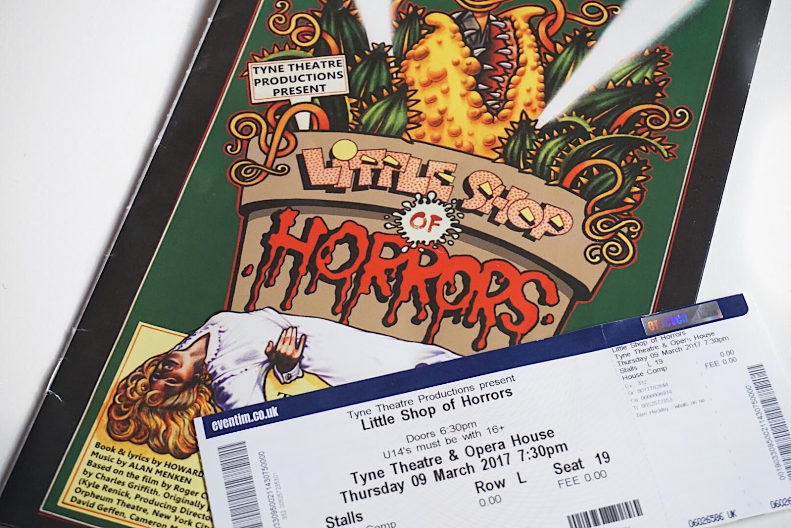 Little Shop of Horrors Tyne Theatre