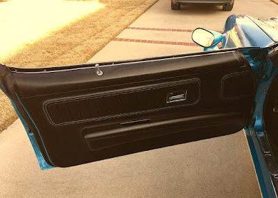 1970 Chevrolet Camaro RS SS 350 LT-1 Door Interior