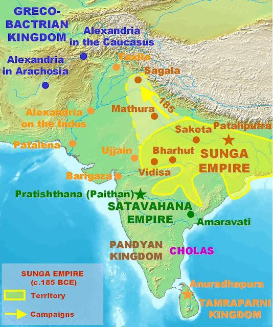 Post-Mauryan-Age-sunga-dynasty