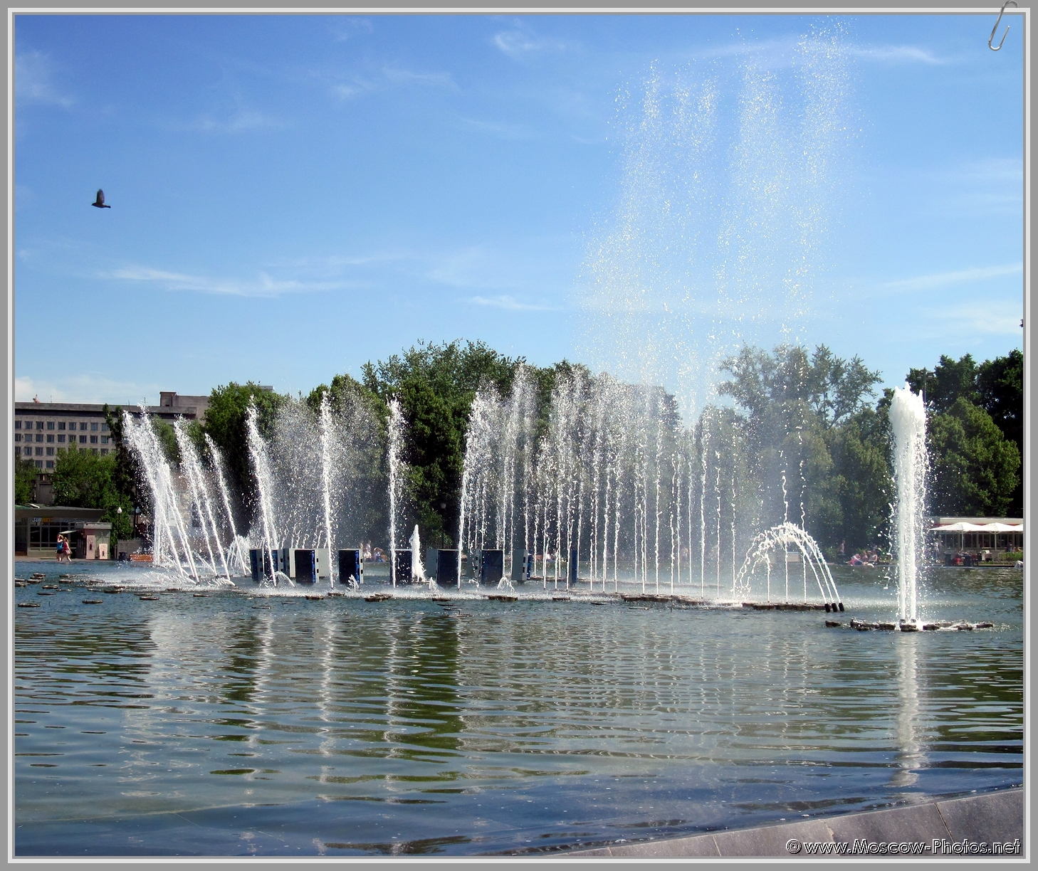 Fountain in Moscow