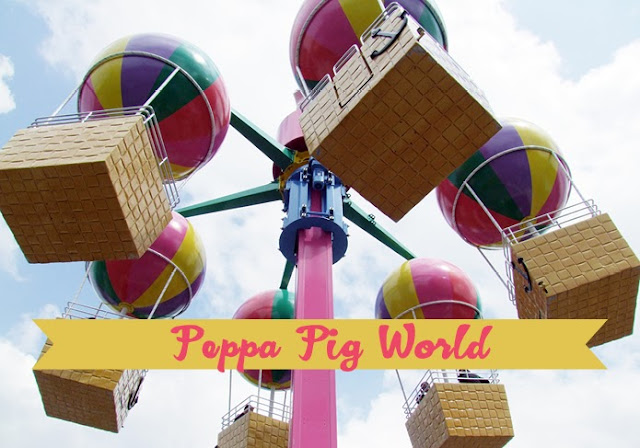 Escapada familiar: parque de atracciones Peppa Pig World