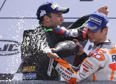 Naik Podium Sumbangan, Pedrosa Terima Kasih ke Rossi