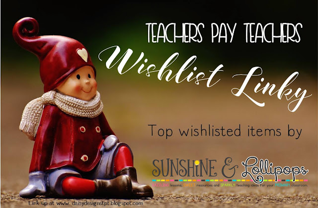 Check out the top 3 Wishlisted resources on SUnshine and Lollipops...the Cyber Sale has started so run over to the blog and check them out and then scoop them up...Don't be left out in the cold...baby it is cold out there...warm up with thei great sale!!