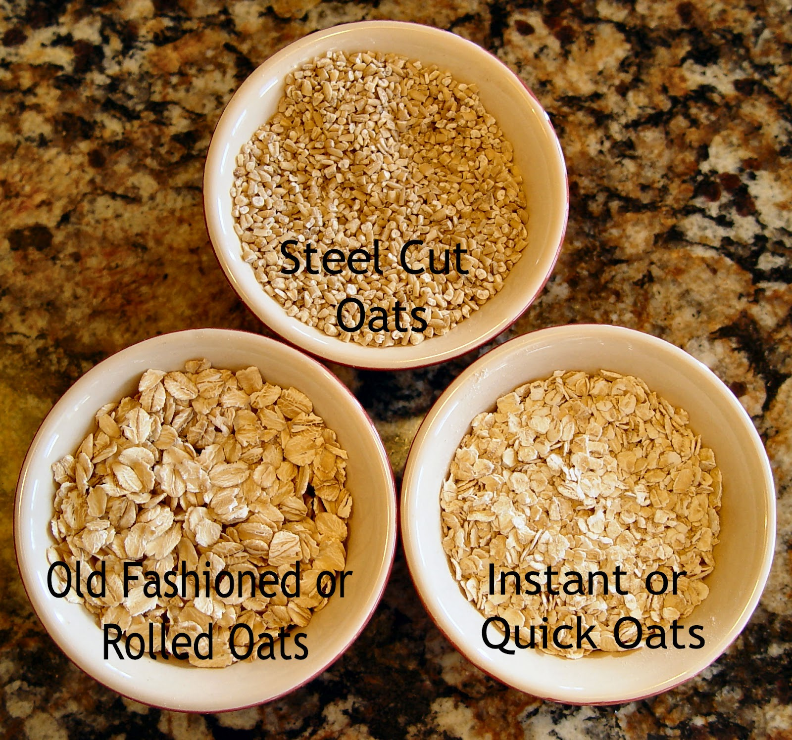 Glycemic Load Oatmeal Old Fashioned Vs Instant