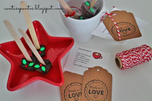 Presentes de Natal - hot chocolat