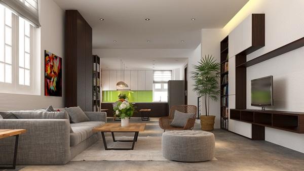Kiến trúc nội thất phong cách hiện đại