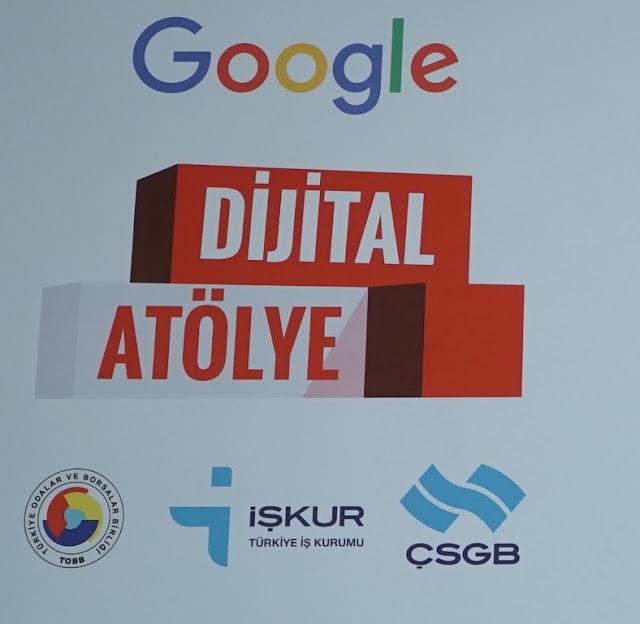 Google Türkiye, Türkiye'ye özel içerikle geliştirilen Dijital Atölye isimli eğitim projesini başlatıyor