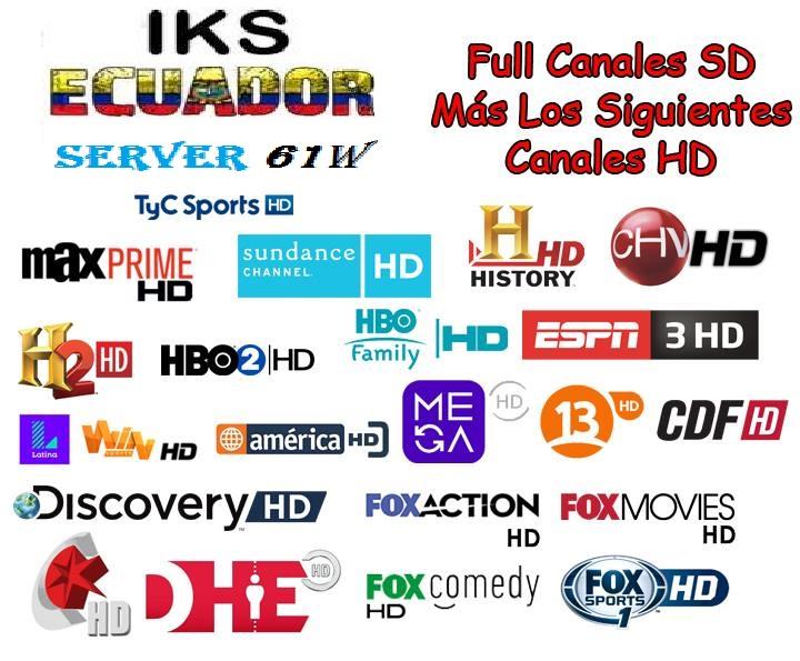 IKS ECUADOR Server 61W