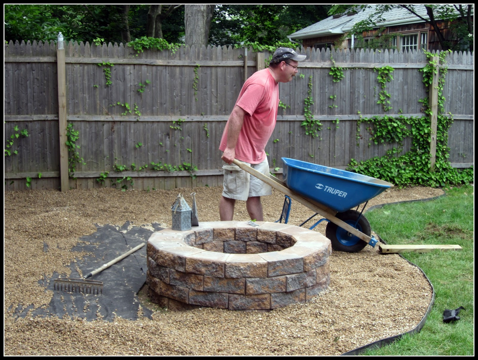 Homeroad Building A Fire Pit