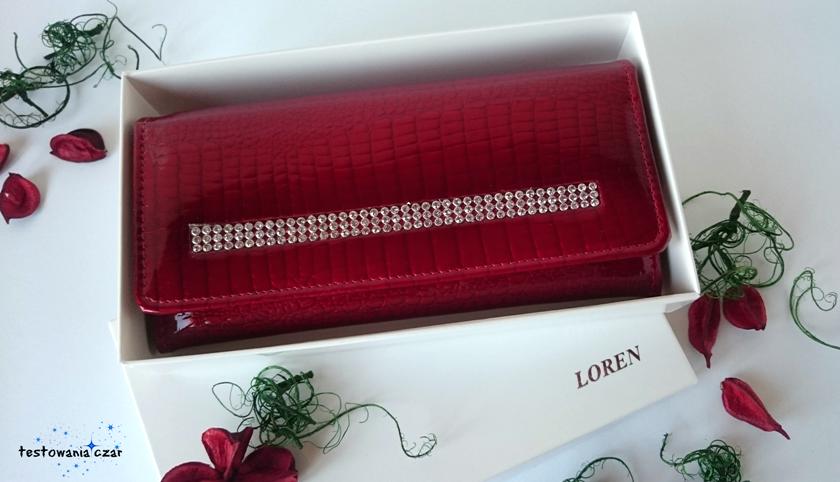 Portfel damski marki Loren - mój elegancki pomocnik